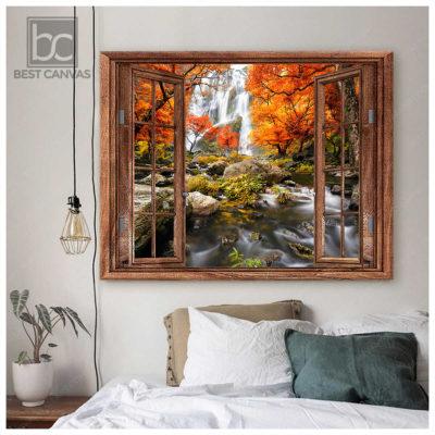 Top 03 Beautiful Waterfall In The Autumn